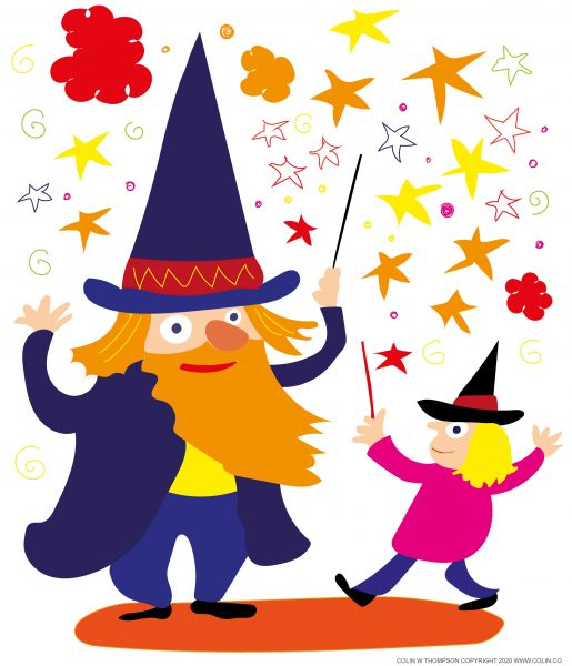 Wizard and pupil