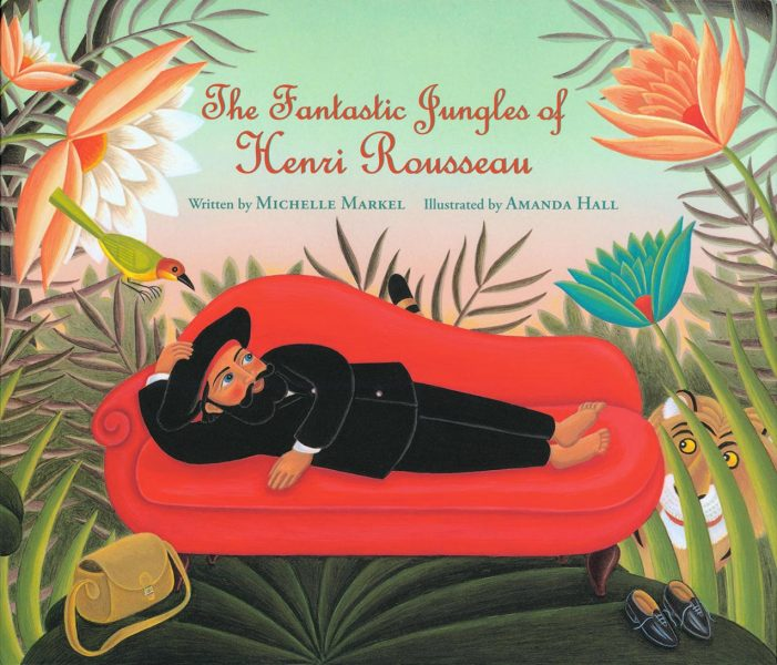THE FANTASTIC JUNGLES OF HENRI ROUSSEAU COVER