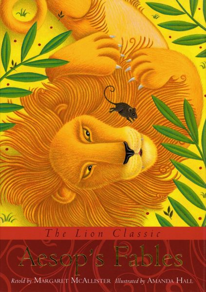 THE LION CLASSIC AESOP'S FABLES COVER