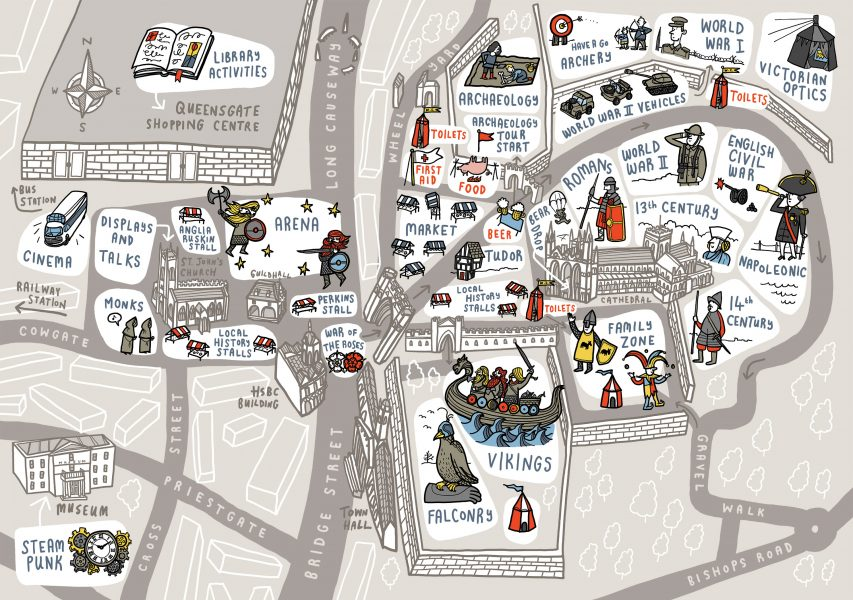 Heritage Festival Illustrated Map