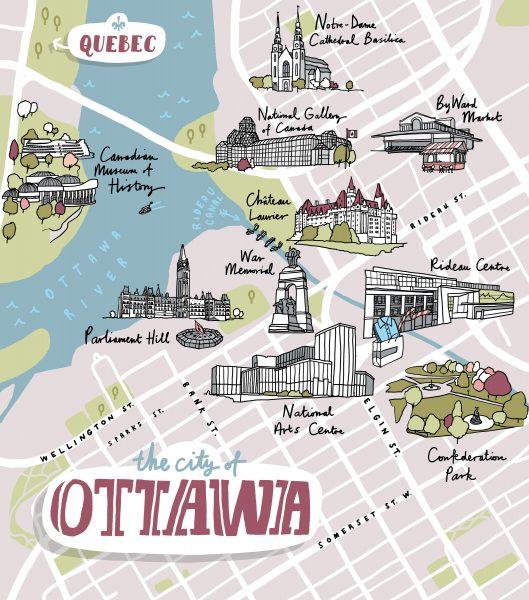 Harry Rosen Ottawa Map