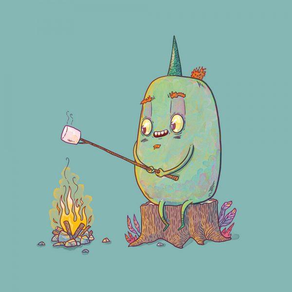 Monster_campfire_nicola-anderson