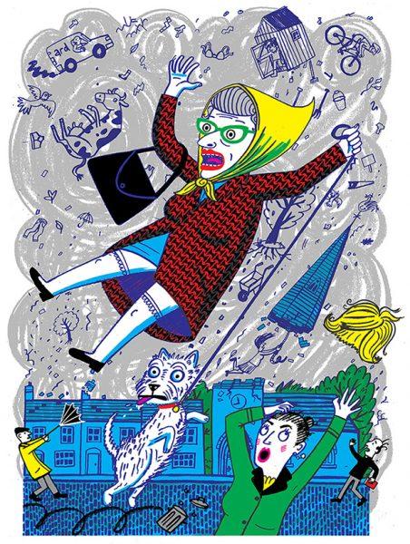 Granny - An illustration of a Spike Milligan poem