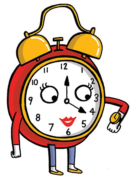 Happy Clock - Produced for Woman's Weekly Magazine
