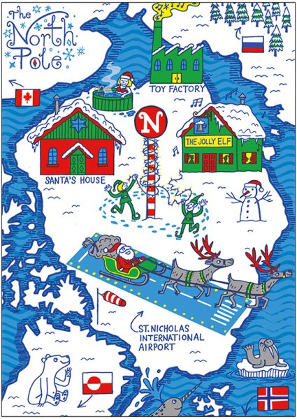 A Map of the North Pole