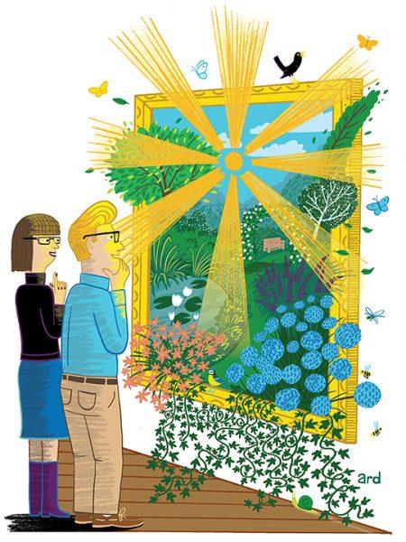 Art Critics - Produced for Gardeners' World Magazine