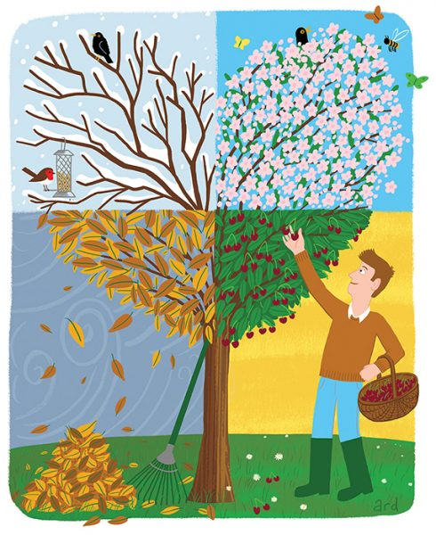 Four Seasons - Produced for Gardeners' World Magazine