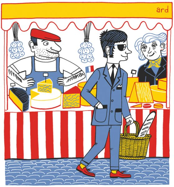A Mod in a Market - Produced for Living France Magazine