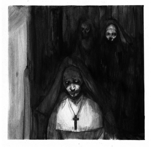 'The Nun' illustration for feature film