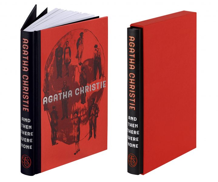 And Then There Were None cover design