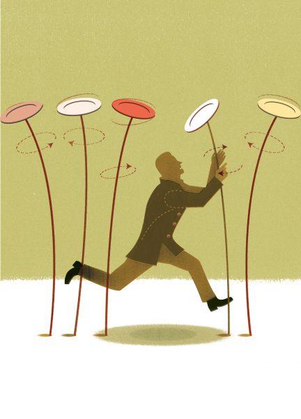 Juggling Plates