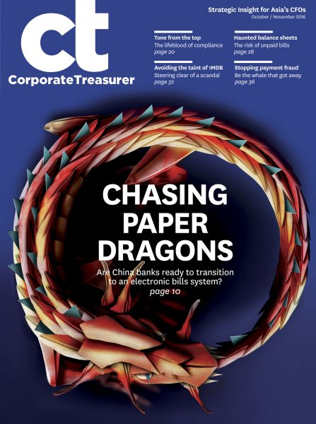 Chasing Paper Dragons / Corporate Treasurer
