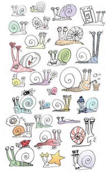 snails, snails and more snails