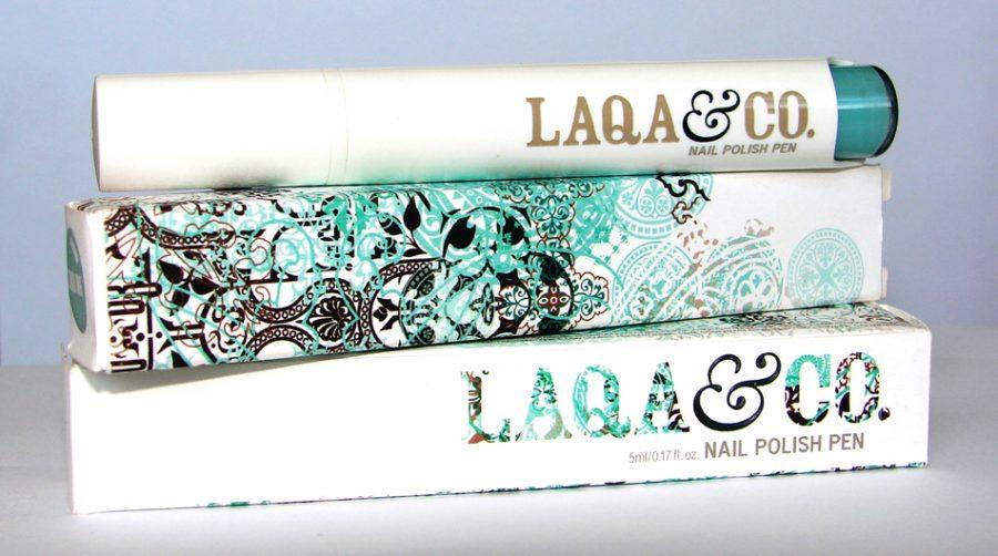 Laqa Nail Polish Packaging