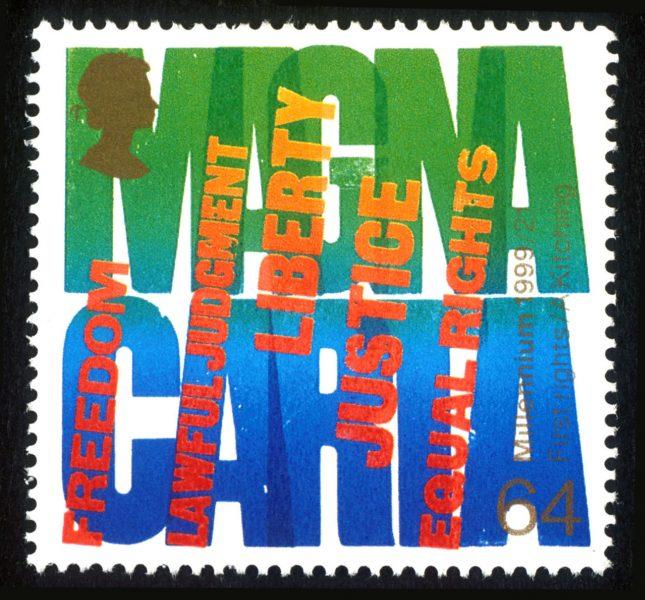 19_Magna Carta Stamp