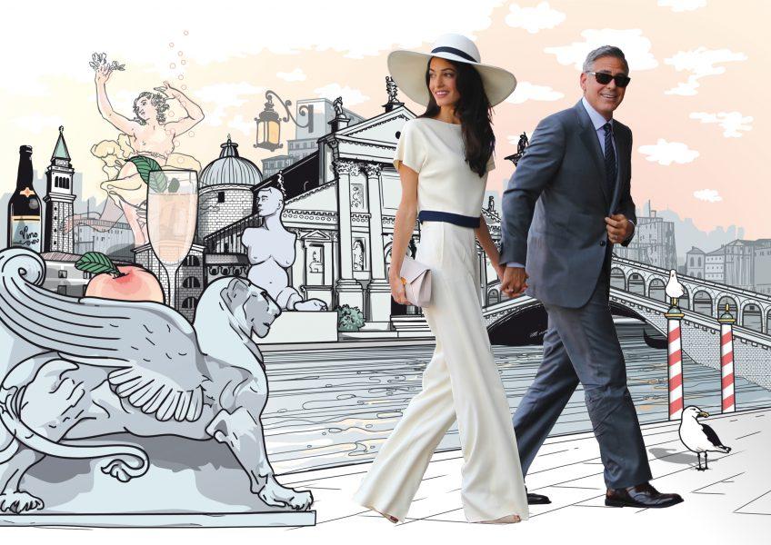 Clooney In Venice / Jetaway Travel Magazine