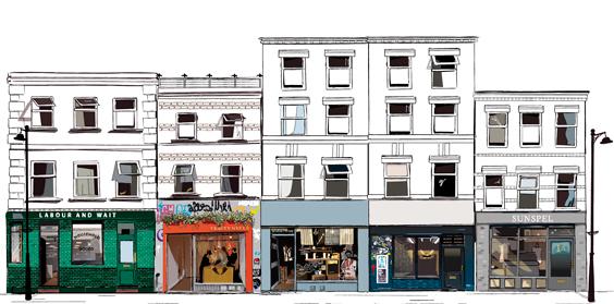 Redchurch Street London / GQ Magazine