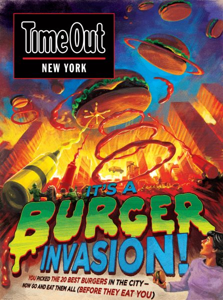 Burger Invasion / Time Out New York