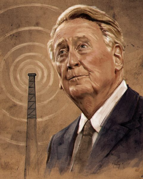 Vin Scully / Washington Post