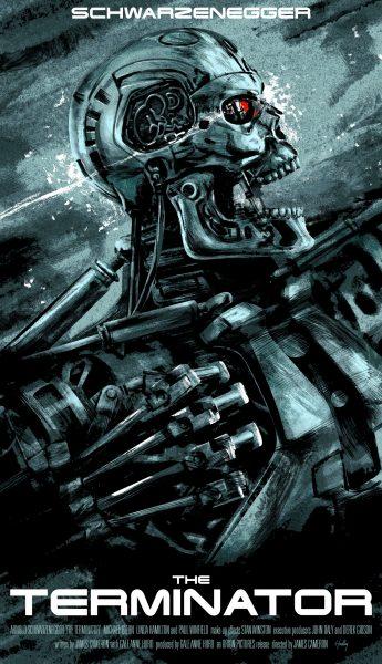 Terminator Tribute Poster
