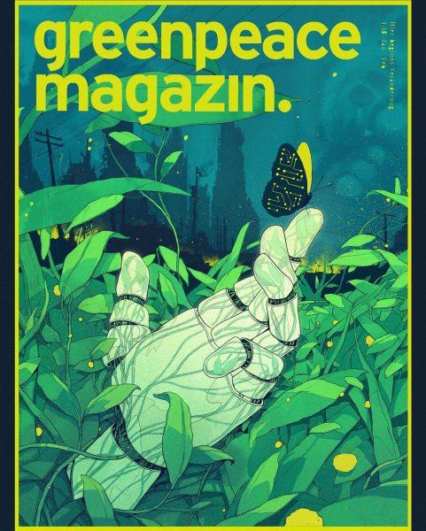 Sustainable Future Cover / Greenpeace Magazin