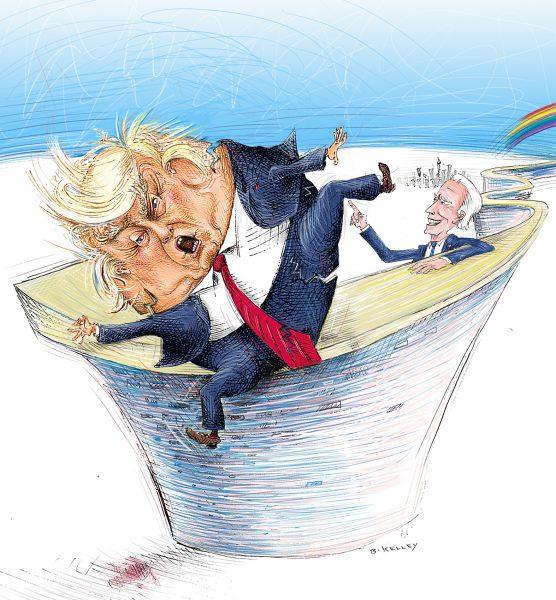 Humpty Trumpty falls