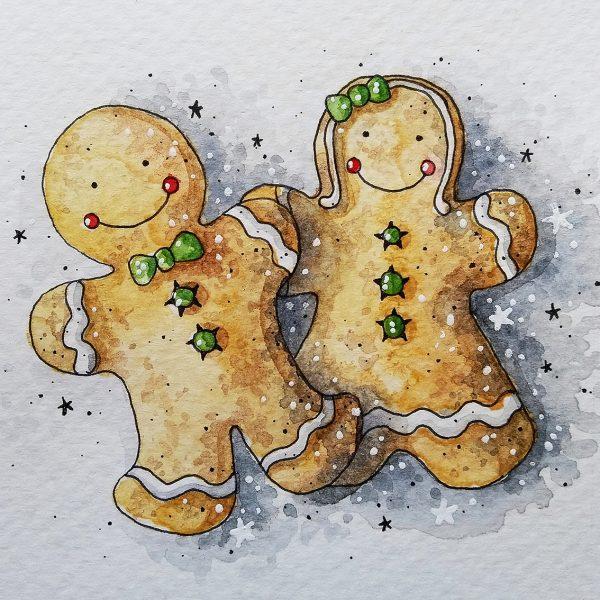 Gingerbread Man & Woman