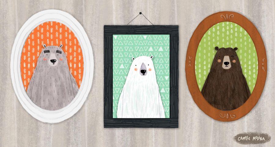 Bears (Portraits)