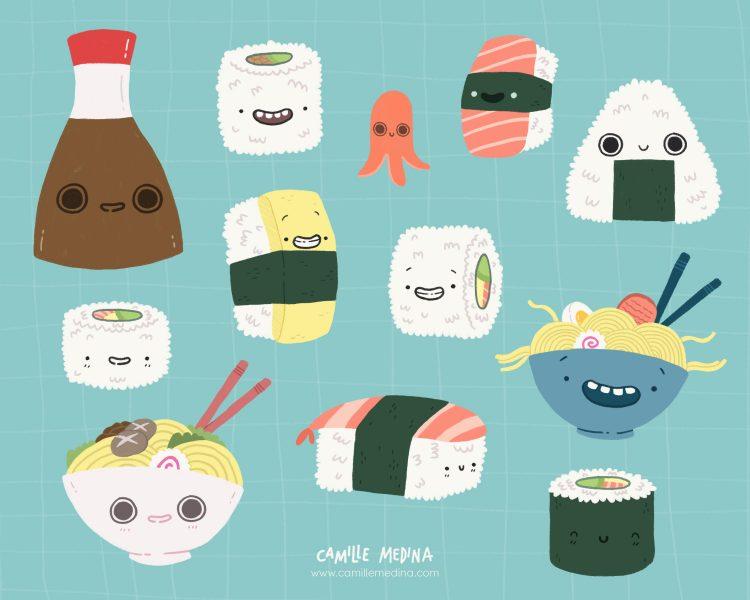 J'adore Les Sushis