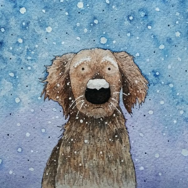 Victoria-Ellis-Dog-with-Snowy-Nose