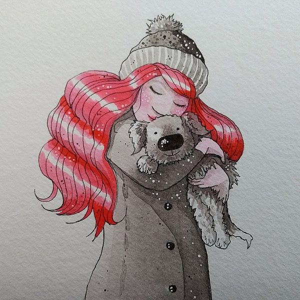 Victoria-Ellis-Red-Head-Girl-with-Dog