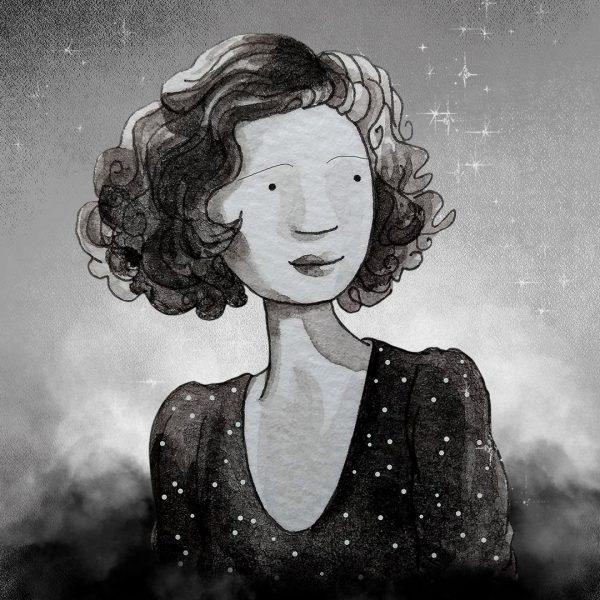 Loretta Young Portrait