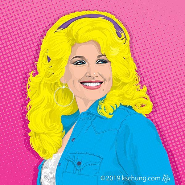 Portrait Dolly Parton