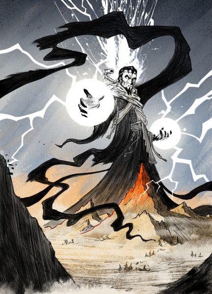 The Warlock of Firetop Mountain - personal work