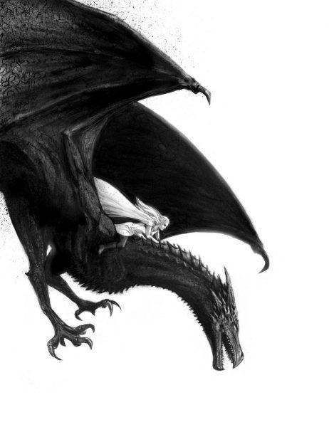 Daenerys and Drogon - personal work