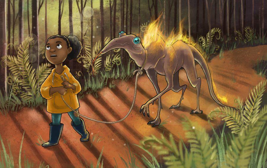 Shauni & Fire Salamander