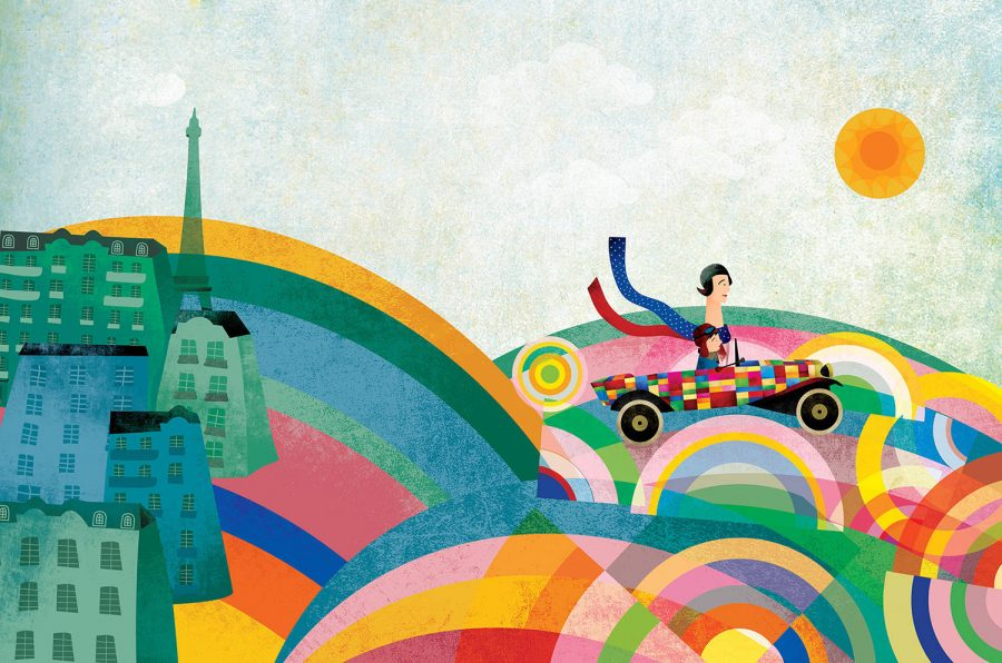 SONIA DELAUNAY A LOFE OF COLOR