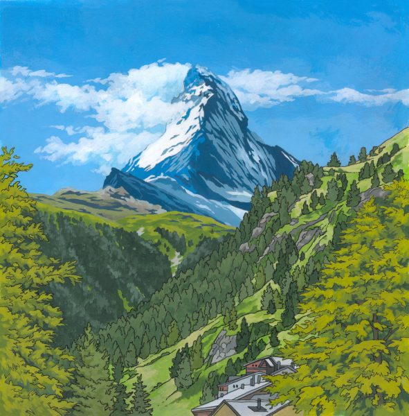 Matterhorn-in-Summer-by-Jonathan-Chapman