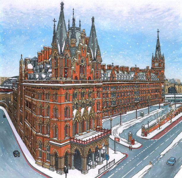 St-Pancras-Snowfall