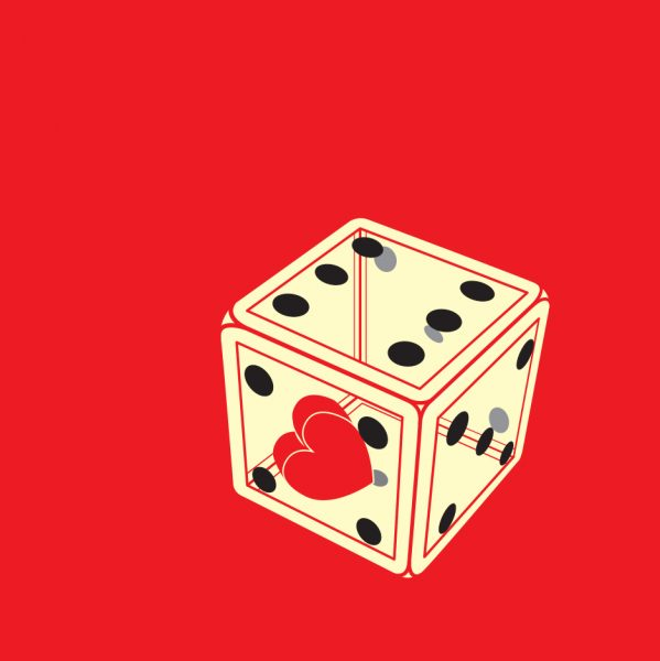 dice with Valentine