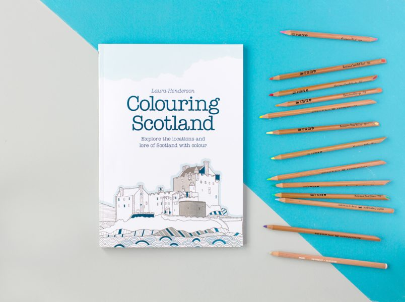 Laura Henderson Colouring Scotland