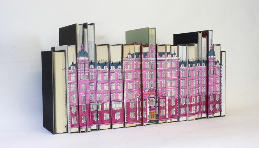 Grand Budapest Hotel Wes Anderson Book Block