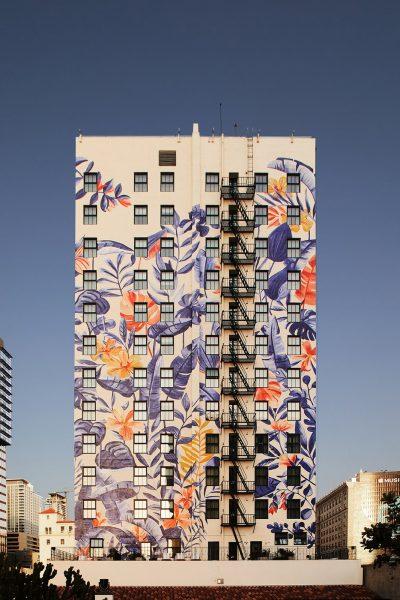 Hotel Figueroa Mural