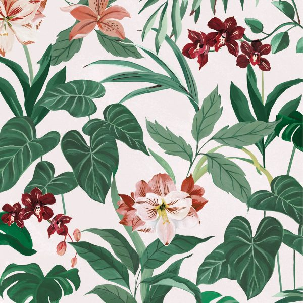 Saatchi and Saatchi -Botanical Wallpaper