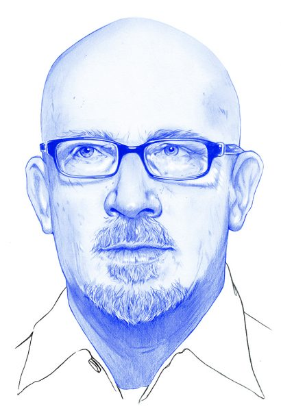 Huck Portrait Illustration Publishing copy