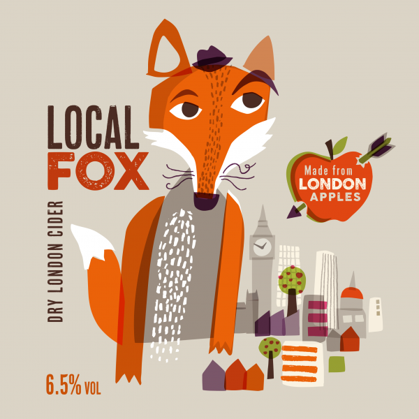 Local Fox Cider for The Orchard Project
