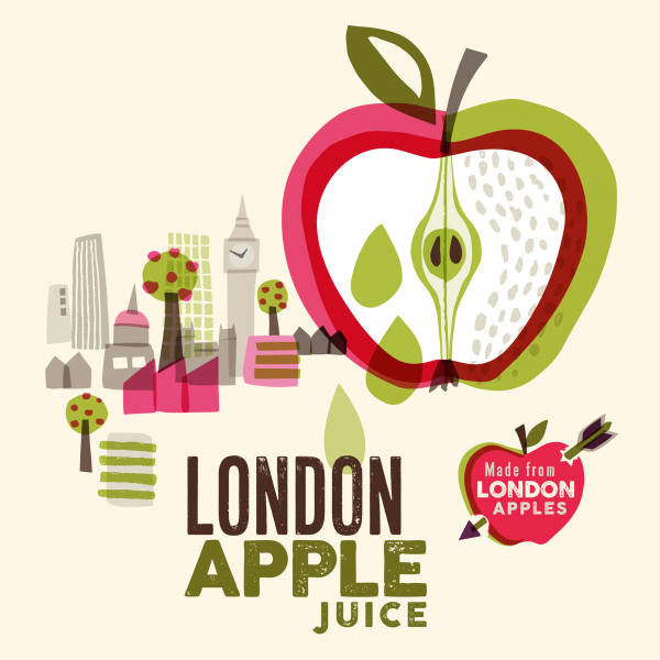 London Apple Juice for The Orchard Project
