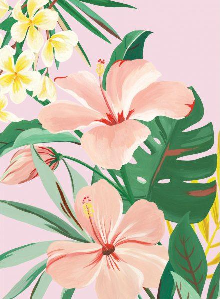 Kendra Scott Advertising Illustrations