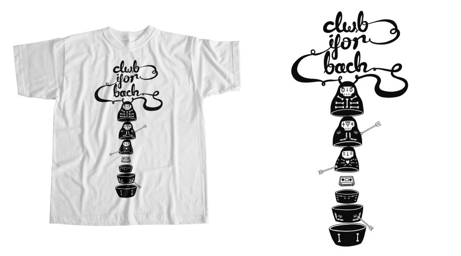 Clwb Ifor Bach T-shirt Design