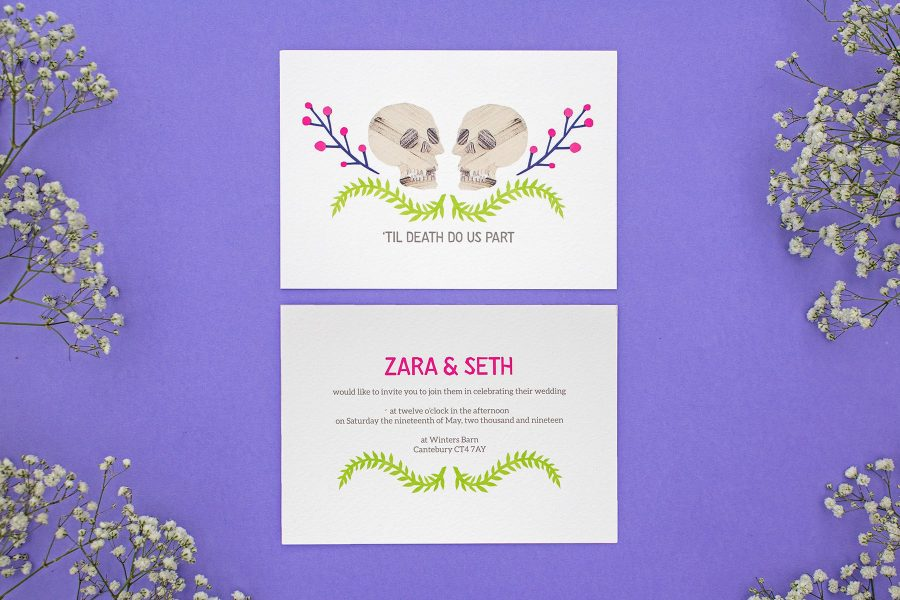 Wedding stationery: Always and Forever